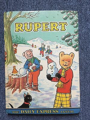 Vintage Book Rupert Annual 1974 Daily Express. V Good Condition