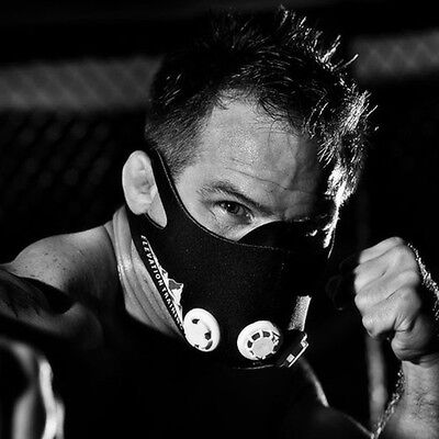 MASK 2.0 High Altitude Training for Boxing MMA UFC RUNNING TRAINING ELEVATION