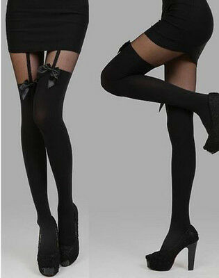 Fashion Women Sheer Lace Top Stay up Thigh High Stocking Pantyhose Stockings New