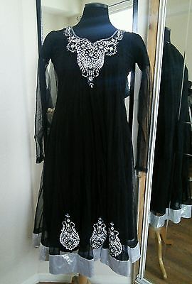 Asian Indian Bollywood Pakistani girls/womens/ladies outfit frock size small