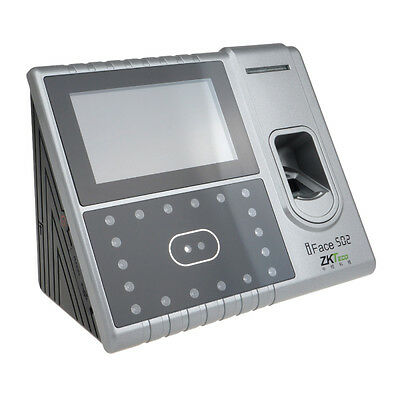 ZKTeck Iface502 Fingerprint Face Scan Reader Access Attendance time Clock System