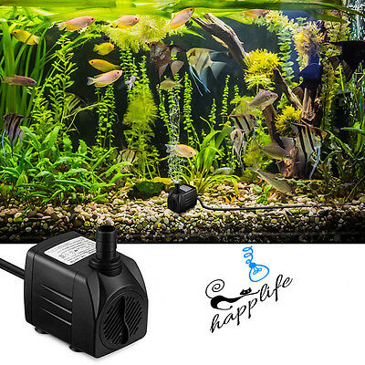 Submersible Water Pump for Aquarium or Small Water Feature choice of sizes Fish