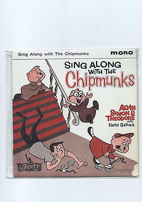 CHIPMUNKS PS EP Sing Along With The Liberty 1961