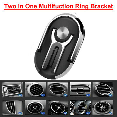 360° Bracket Mobile Cell Phone GPS Magnetic Car Dash Stand Mount Holder 6 Colors