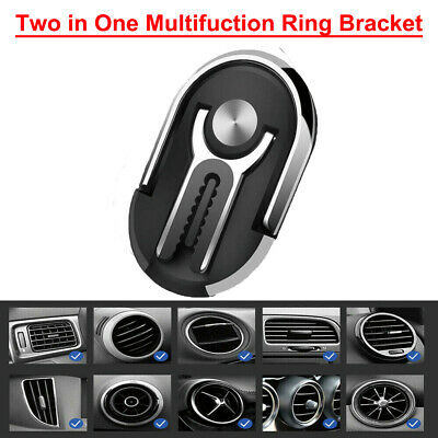 360° Bracket Mobile Cell Phone GPS Magnetic Car Dash Stand Mount Holder 5 Color