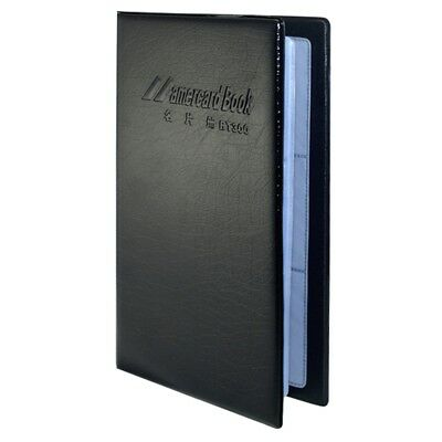 200 Leatherette Business Name Credit Card Holder Organizer Wallet Case