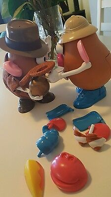 2x lot  PIECES MR POTATO HEAD + RADERS OF THE LOST ARRK+SOUND+ BONUS FREE POST