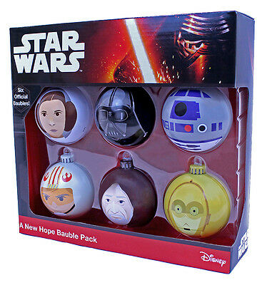 Star Wars Official A New Hope Bauble Pack