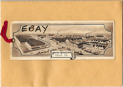 Early Original Bookmark, Industry, Hoffman Manufacturing Co Ltd Chelmsford Essex