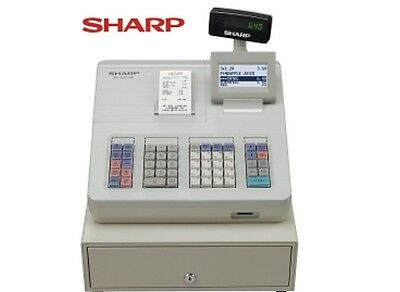 Sharp Xe-A207W Electronic Cash Register With SD Card
