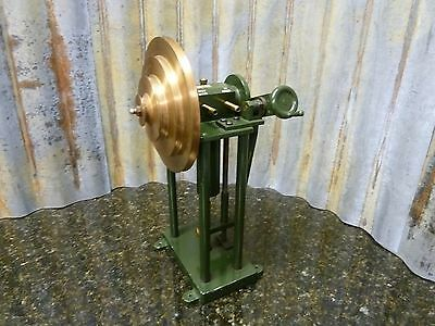 Vintage Brass Wheel Pulmonary Pump Palmer Made In England Very Rare Free S&H