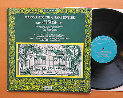 VSL 11050 Charpentier Te Deum Grand Magnificat Louis Martini Vanguard NM/VG