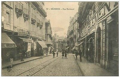 34 BEZIERS - Rue Nationale