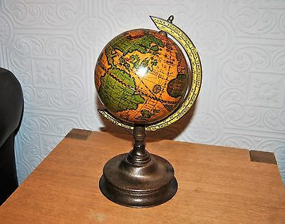 Lovely Antique Style Table Desk Globe. Made in Italy