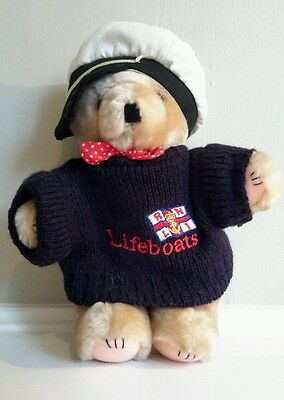 RNLI teddy bear Lifeboat bear