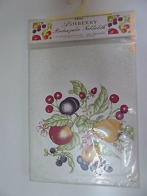 Ashberry Rectangular Tablecloth by Marks & Spencer New Unused Sealed Packaging