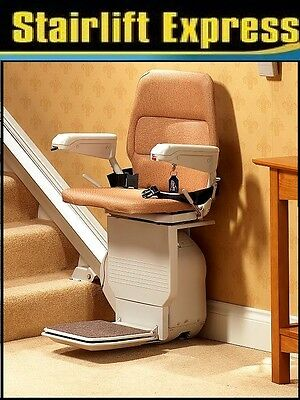 Stannah 300 Straight Stairlift Fit &12 Month Warranty & Free Service £399--