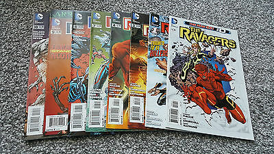 THE RAVAGERS #0,1 + 3,4 + 7,8,9,10 of 13 (2012/13) DC - THE NEW 52!