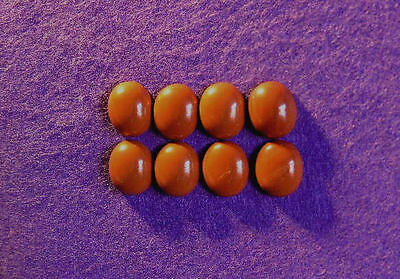 Red Jasper Cabochon Collection 12mm x 10mm Oval, 33.00cts, Ref BG-F4