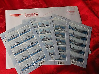 Scarce/Unusual Mint stamps Thai Navy Ships (2014) COMBINED POSTAGE AVAILABLE !