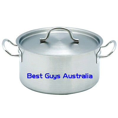 Brand New Stainless Steel 44L Stock Pot Chef Quality 12 Month Warranty