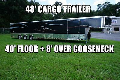 2017 Sundowner 48' Enclosed Cargo Car Hauler