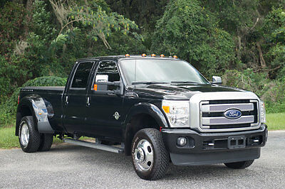 2015 Ford F-350 Platinum Edition Blk/Brown Super Clean 2015 Ford F350 Super Duty Platinum