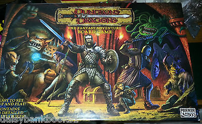 Dungeons and Dragons Fantasy Adventure Game from Parker UK P & P included