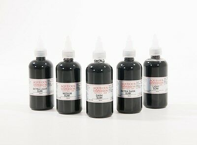 SUMI  GREY SHADING TATTOO INK SET OF 5 15ml / 30ml / 50ml  100ml  / 150ml