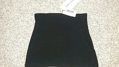 Black maternity bumpband, 16, new with tags