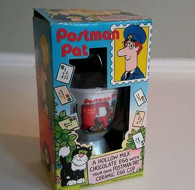 Postman Pat Egg-Cup. Collectable  Boxed.  1997.