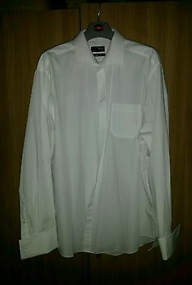Thomas Nash Smart white mens shirt size 48cm