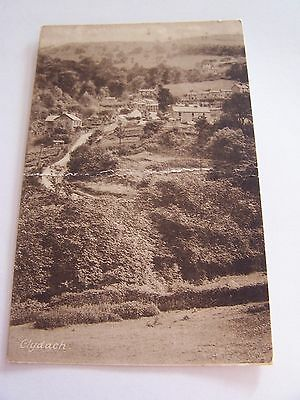 Vintage Postcard Aerial View Clydach South Wales 1959