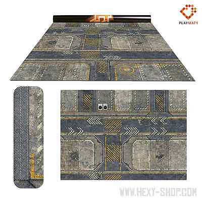 Infinity 2 / Rice Field 2 – Double-Sided 72″ x 48″ Mat for Battle Games