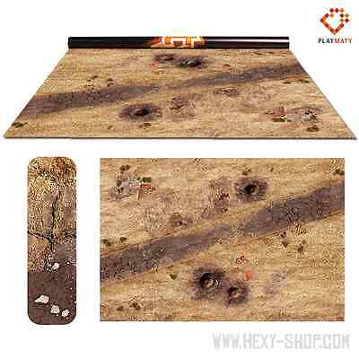 Wasteland 2 / Treasure Island – Double-Sided 72″ x 48″ Mat for Battle Games