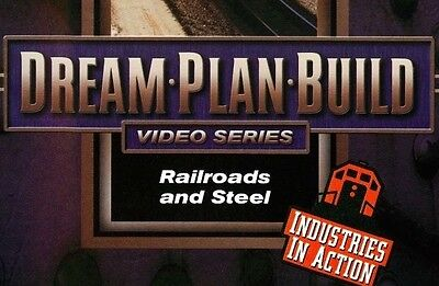 Railroads and Steel DVD 73105D Dream Plan Build Series Industries in Action EX