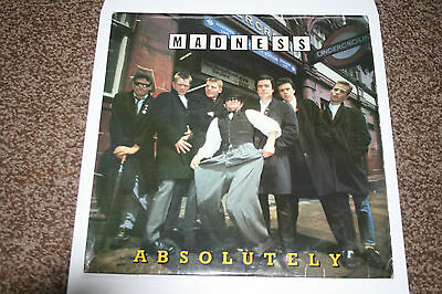 """Madness """"Absolutely"""" Vinyl LP Excellent Condition (Play tested)"""