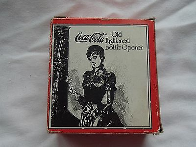 Vintage Old Fashioned Coca Cola Bottle Opener NEW IN BOX  TAIWAN