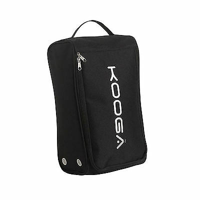 NEW KooGa BLACK XLARGE BOOT BAG FITS UP TO SIZE 15 BOOT !!!!