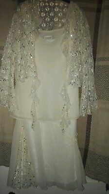 Roman Originals Cream Special Occasions Outfit Size 12