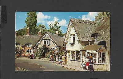 Constance Colour Postcard The Old Village  Shanklin Isle-of-Wight Posted