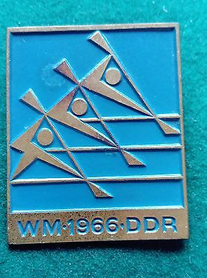 1966 Berlin ICF World Canoe Sprint Championship blue badge