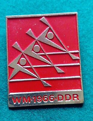 1966 Berlin ICF World Canoe Sprint Championship red badge