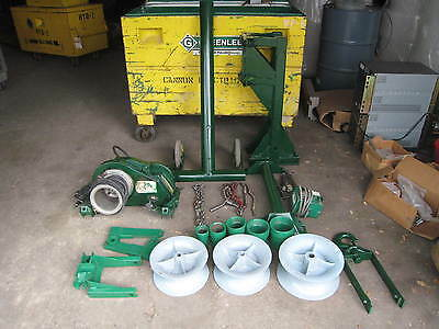 Greenlee 6001 6500Lbs Super Tugger Cable Wire Puller Package Complete