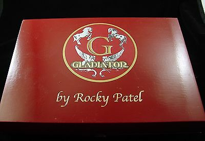 Cigar Box Gladiator Wood  Box Storage Sewing Jewelry Guitar Purse Craft Project