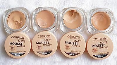 Catrice Cosmetics MATT MOUSSE 12H Make-up Even Finish Invisible Pores&Lines 16g