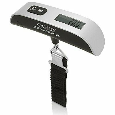 Camry Digital Portable Travel Hanging Luggage Scale 50kg / 110lb Weighing Bags