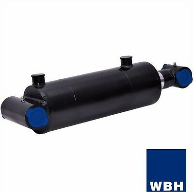 """4"""" Bore 8"""" Stroke Cross Tube End WBH Hydraulic Cylinder Welded Double Acting"""
