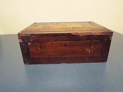 19th Century Bible/Sewing Box - with Inlaid