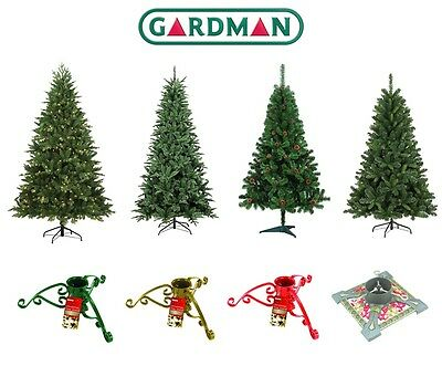 Gardman Artificial Christmas Trees & Stands Ultimate Xmas Decoration Collection
